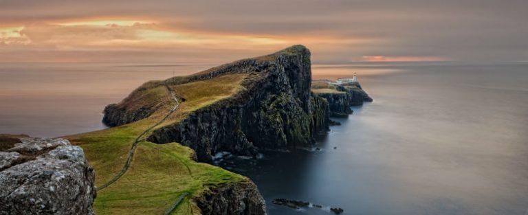 Cruisen en rijden naar Schotland