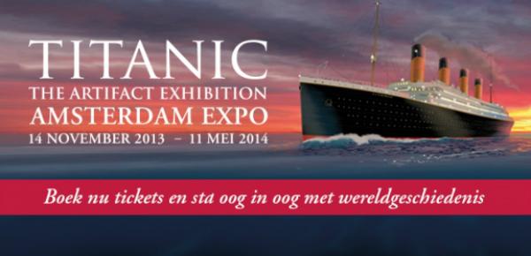 Titanic expositie