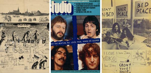 The Beatles op de verzamelaarsbeurs