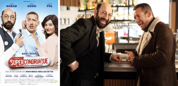 Win kaarten voor de nieuwe Franse film Supercondriaque