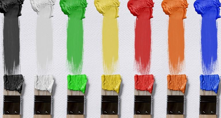 Spencer beschilderde 2983 stukjes papier