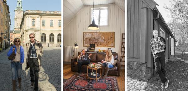 Thuis bij Hakan Nesser in Stockholm