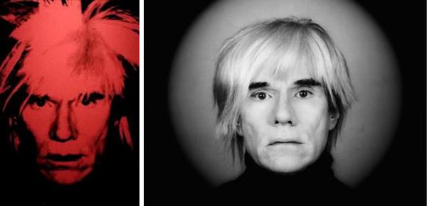 Gelukkig hebben we Warhols foto's nog