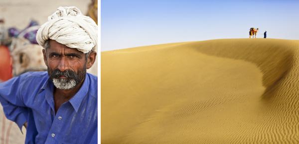Waggelend door de woestijn