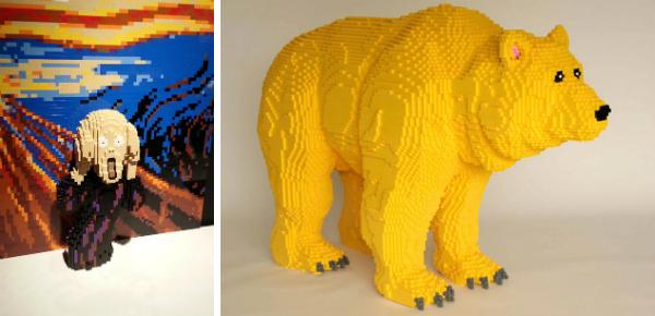 Laatste kans: levensechte Lego