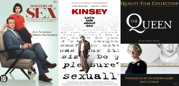 The Queen, Kinsey & Masters of Sex