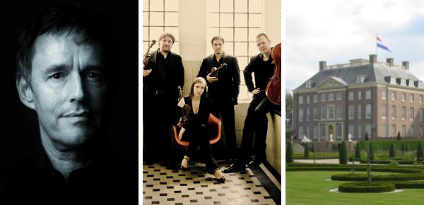 Klassieke muziek op een koninklijke locatie