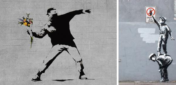 Koning van de straatkunst