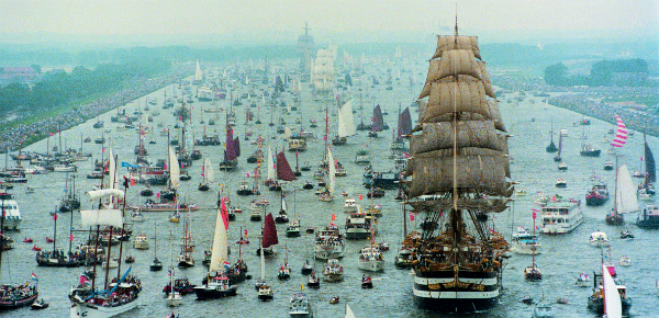 Concertgebouworkest op Sail