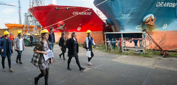 Grootse dromen in de Rotterdamse haven