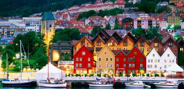 De hotspots van Bergen
