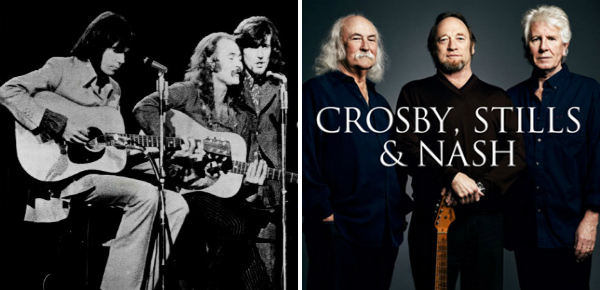 Vanavond in NL: Crosby, Stills & Nash!