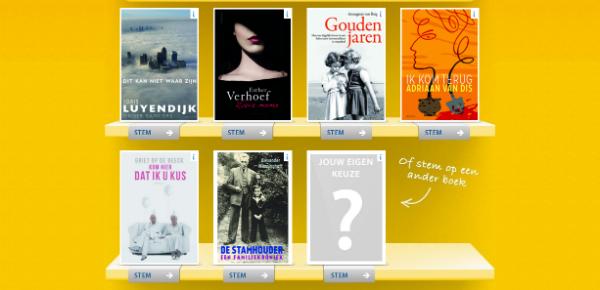 Wat is uw Boek van het Jaar?