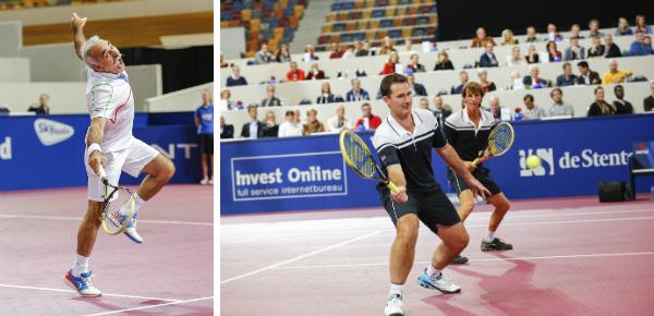 Tennistoppers in actie zien?