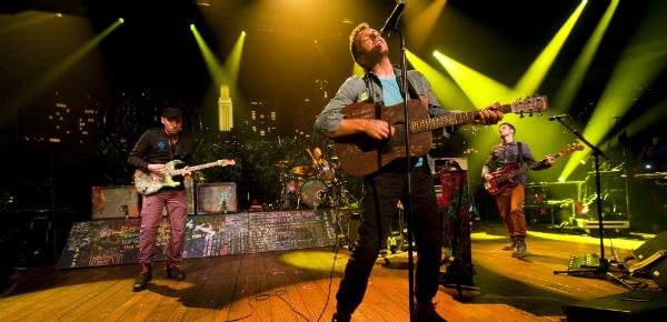 Hoofdstukken afsluiten met Coldplay