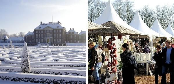 Warme winterfair bij Paleis Het Loo