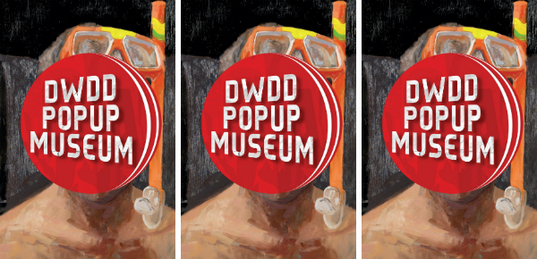 Pop-up kunst van DWDD