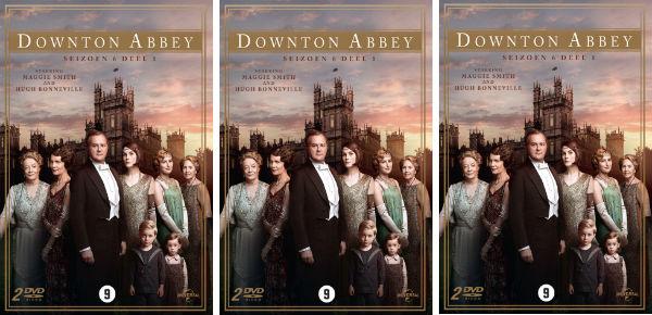 Win het laatste seizoen van Downton Abbey