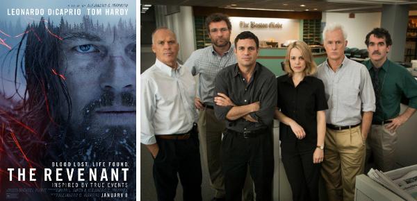 Twee topfilms in première