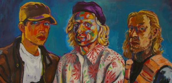 Een schilder met angsten en waanideeën