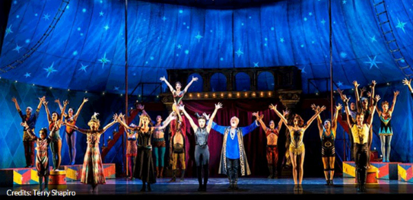 Gratis rang-upgrade voor Broadway-musical PIPPIN