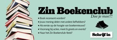 Schrijf je in voor de Zin Boekenclub