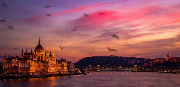 Boedapest in perfect licht