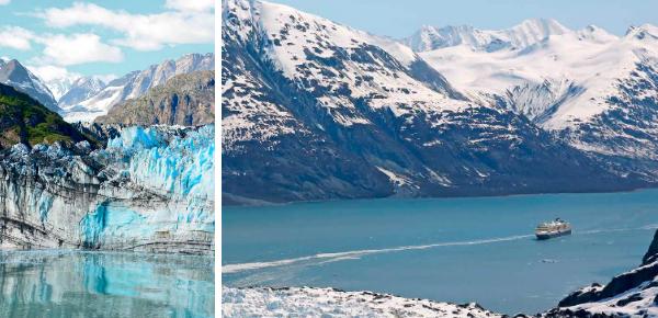 Renate Dorrestein op Alaska-cruise