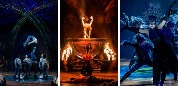 Nog even en Cirque du Soleil vertrekt…