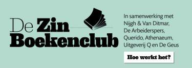 Zin Boekenclub inschrijven