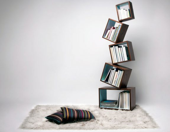 creatieve boekenkast 1