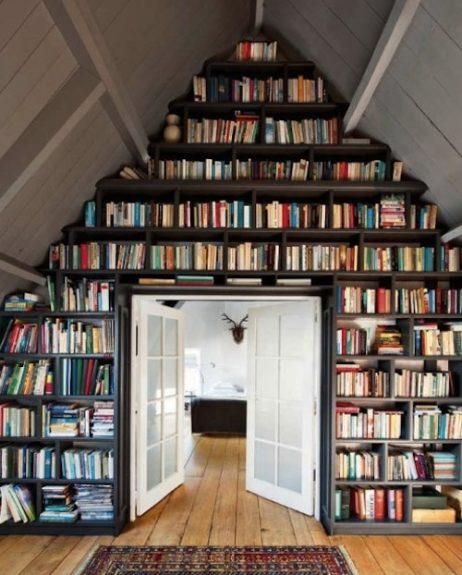 creatieve boekenkast