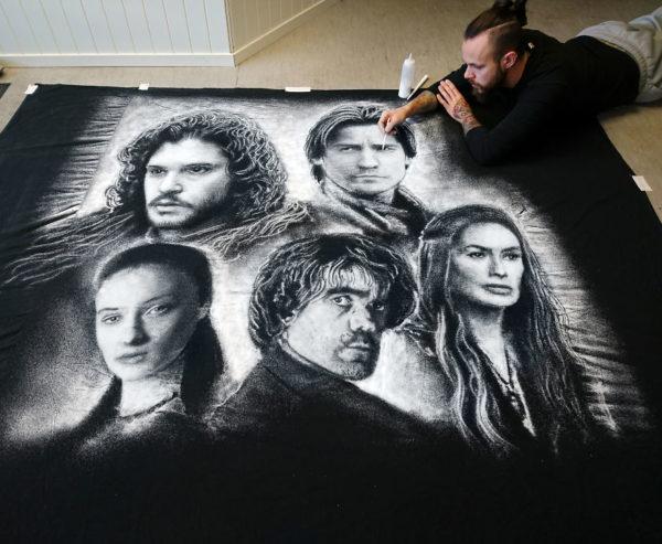 Dino Tomic zoutkunst Game of Thrones 1