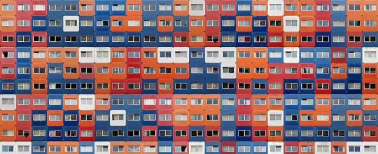 Oogstrelend: de perfecte symmetrie van de stad