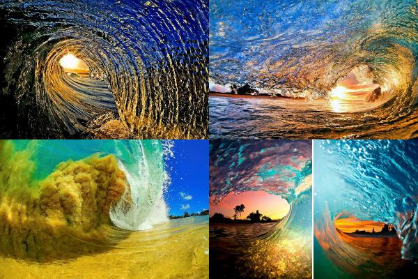 Oceanendag golven