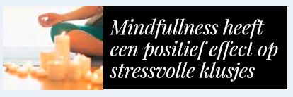 Gezondheidstips Zin-boek mindfulness