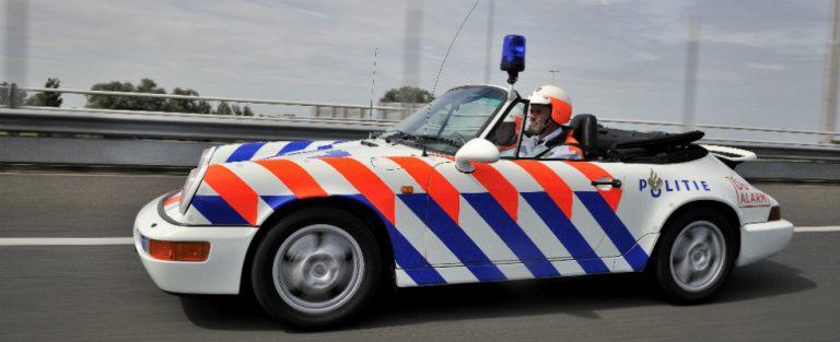 Politie te Porsche