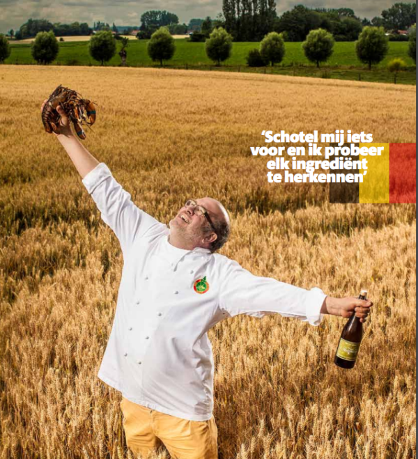 Vlaamse chefs Stefaan Couttenye