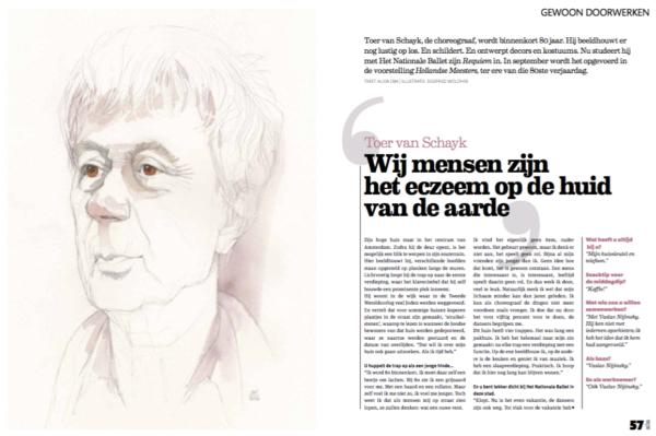 Toer van Schayk artikel