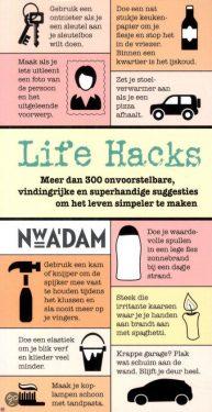 handige life hacks Machteld Smid