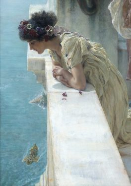 Sir Lawrence Alma-Tadema, A coign of Vantage (detail), Collection of Ann and Gordon Getty