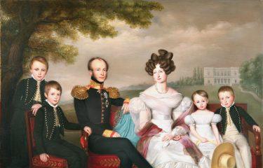 4. Anna Paulowna met haar gezin, J.B. van der Hulst, ca 1826. Koninklijke Verzamelingen
