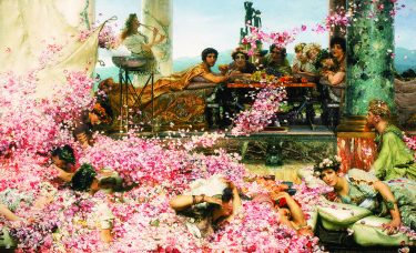 7.Sir Lawrence Alma-Tadema, De rozen van Heliogabalus, 1888,  Collectie van Pérez Simón, Mexico. Foto © Arturo Piera
