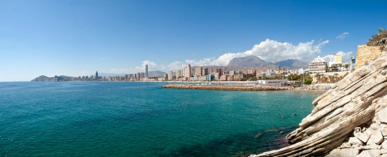 Winterzon in Benidorm