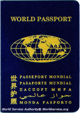 Measure of our Traveling Feet World Authority Passport