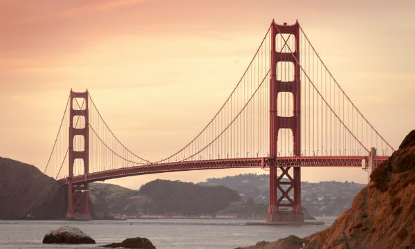 Wereldreiziger Marco van der Kreeke Golden Gate Bridge