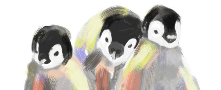 Kleurrijke diertekeningen
