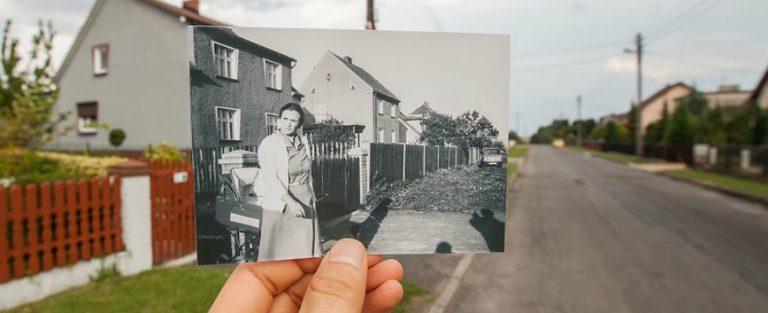 Mooie foto's brengen heden en verleden samen