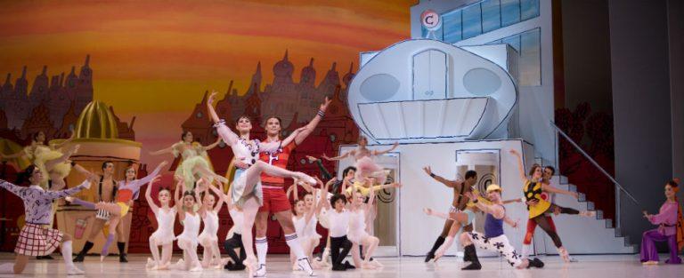 Kleurrijk feelgood ballet