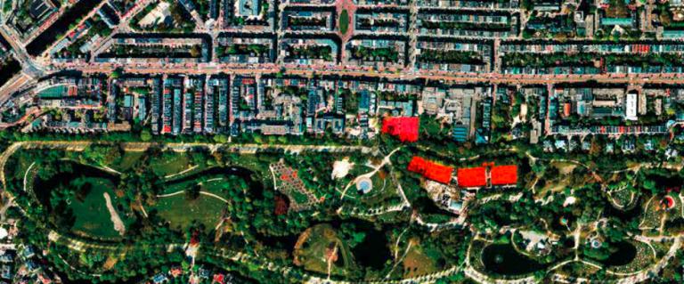 Satellietfoto's van ons leven op aarde